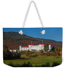 The Mount Washington Hotel In Autumn Weekender Tote Bag