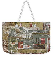 The Mountain Village Weekender Tote Bag
