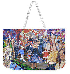 The Music Never Stopped Weekender Tote Bag