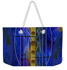 The Musical Abstraction Weekender Tote Bag