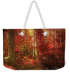 The Mystic Forest Weekender Tote Bag by Tara Turner