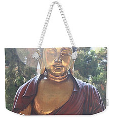 The Mystical Golden Buddha Weekender Tote Bag