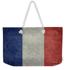 The National Flag Of France Weekender Tote Bag