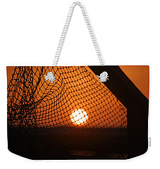 The Netted Sun Weekender Tote Bag by Leticia Latocki