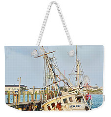 The New Hope Sunken Ship - Ocean City Maryland Weekender Tote Bag