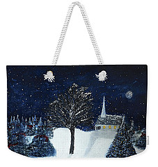 The Night Before Christmas Weekender Tote Bag by Dick Bourgault