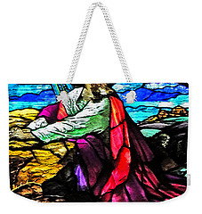 The Night Before The Cross Weekender Tote Bag by Lydia Holly