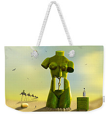 The Nightstand Weekender Tote Bag by Mike McGlothlen
