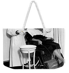 The North Harlem Dental Clinic Weekender Tote Bag by Underwood Archives