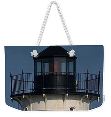 Weekender Tote Bag featuring the photograph Lighthouse by Eunice Miller