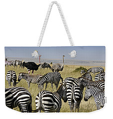 The Odd Couple Weekender Tote Bag by Michele Burgess