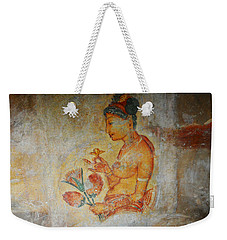 The Ode For The Women Beauty I. Sigiriyan Lady With Flowers. Sigiriya. Sri Lanka Weekender Tote Bag