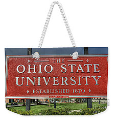 The Ohio State University Weekender Tote Bag by David Bearden