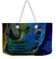 The Old Blue Rhino Weekender Tote Bag