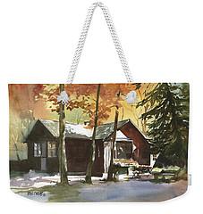 The Old Cottage Weekender Tote Bag