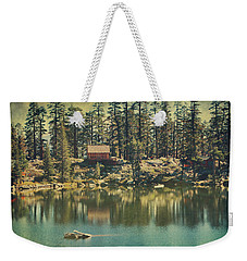 The Old Days By The Lake Weekender Tote Bag