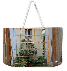 Memories Made Beyond This Old Door Weekender Tote Bag