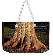 The Old English Oak Tree Weekender Tote Bag