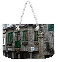 The Old Firewood Marketplace Weekender Tote Bag