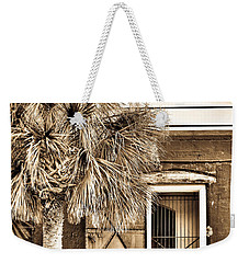 The Old Fort-sepia Weekender Tote Bag