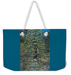 The Old Juniper Tree Weekender Tote Bag