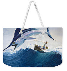 The Old Man And The Sea Weekender Tote Bag by Harry G Seabright