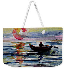 The Old Man And The Sea Weekender Tote Bag by Xueling Zou