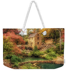 The Old Mill In Autumn - Arkansas - North Little Rock Weekender Tote Bag by Jason Politte