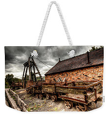 Weekender Tote Bag featuring the photograph The Old Mine by Adrian Evans