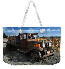 The Old Pumpkin Patch Weekender Tote Bag by Michael Gordon