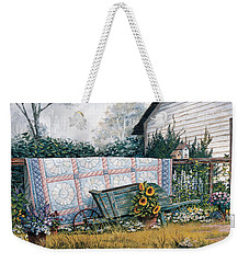 The Old Quilt Weekender Tote Bag