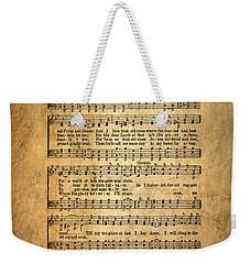 The Old Rugged Cross Weekender Tote Bag