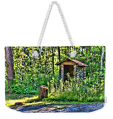 The Old Shed Weekender Tote Bag