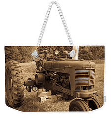 The Old Tractor Weekender Tote Bag by Edward Fielding