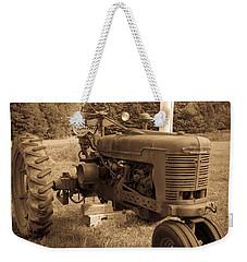 The Old Tractor Weekender Tote Bag