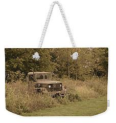 The Old Truck Weekender Tote Bag