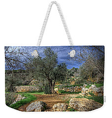 The Olive Tree Weekender Tote Bag