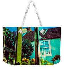 Weekender Tote Bag featuring the photograph The Open Window by Chris Lord
