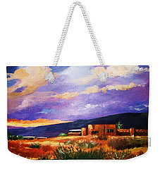 The Orange Glow Of Sunset Weekender Tote Bag