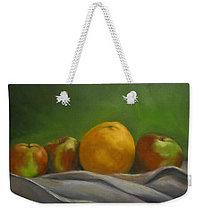 The Orange Weekender Tote Bag