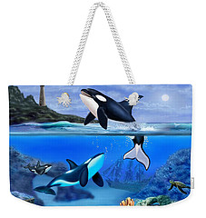 The Orca Family Weekender Tote Bag