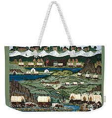 The Oregon Trail Weekender Tote Bag