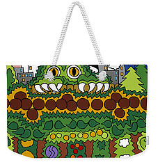 The Other Side Of The Garden  Weekender Tote Bag by Rojax Art