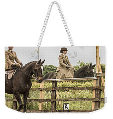 The Other Side Of The Saddle Weekender Tote Bag by Linsey Williams