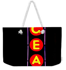 The Pageant In Neon Weekender Tote Bag by Kelly Awad