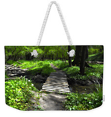 The Painted Forest From The Series The Imprint Of Man In Nature Weekender Tote Bag