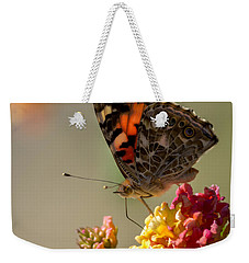 The Painted Lady Weekender Tote Bag