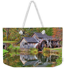 The Painted Mill Weekender Tote Bag