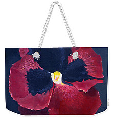 The Pansy Weekender Tote Bag