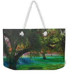 The Park Weekender Tote Bag by Athala Carole Bruckner